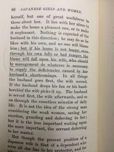 Japanese Women annotations